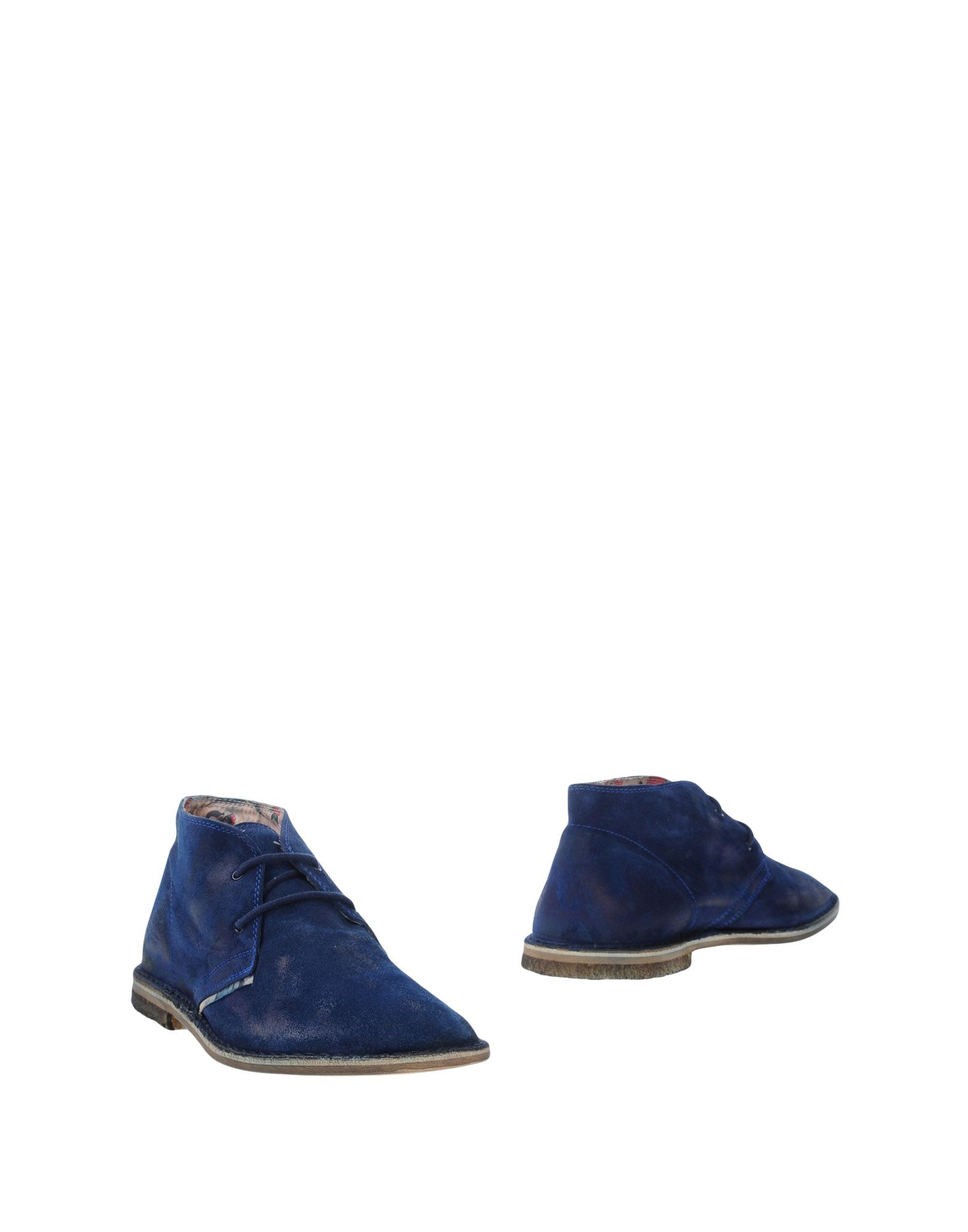 LE CROWN Boots in Blue