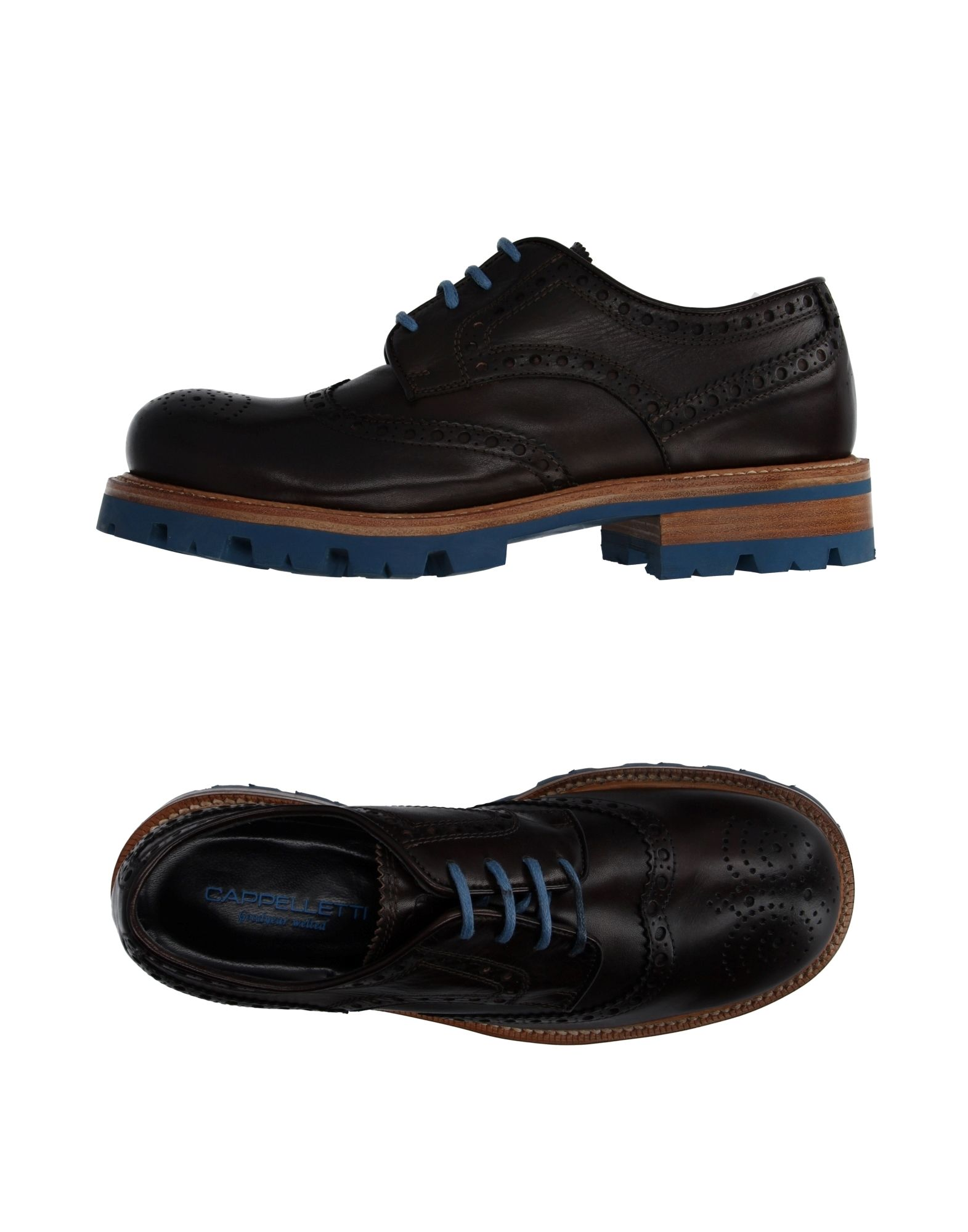 CAPPELLETTI Laced Shoes in Dark Brown