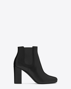 SAINT LAURENT Babies D BABIES 90 Chelsea Ankle Boot in Black Leather f