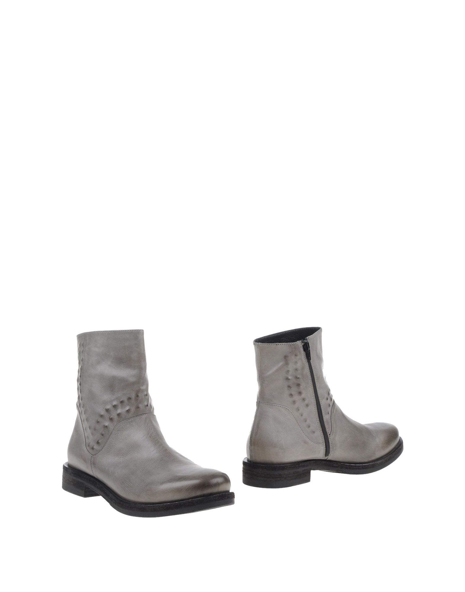 VIC Ankle Boot in Light Grey