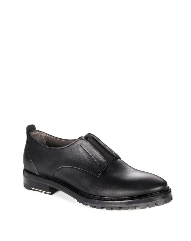 LANVIN SMOOTH CALFSKIN DERBY Lace ups U f