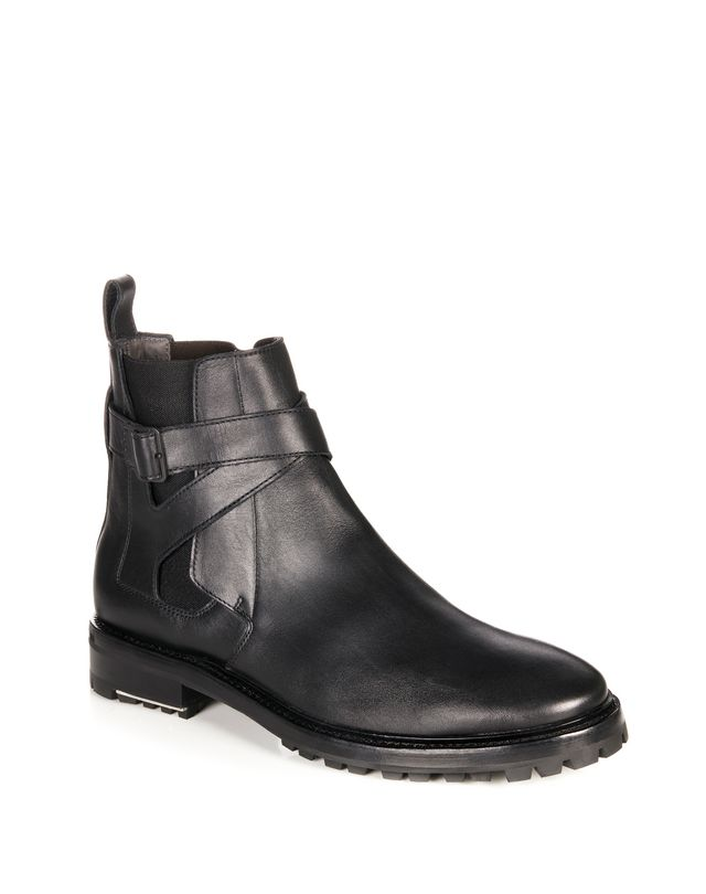 LANVIN SMOOTH CALFSKIN CHELSEA BOOT Boots U f