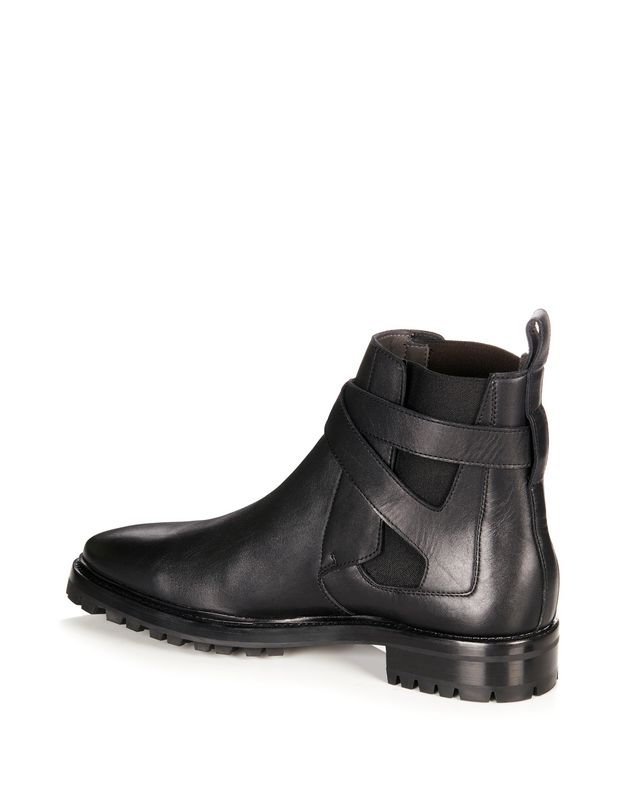 LANVIN SMOOTH CALFSKIN CHELSEA BOOT Boots U r