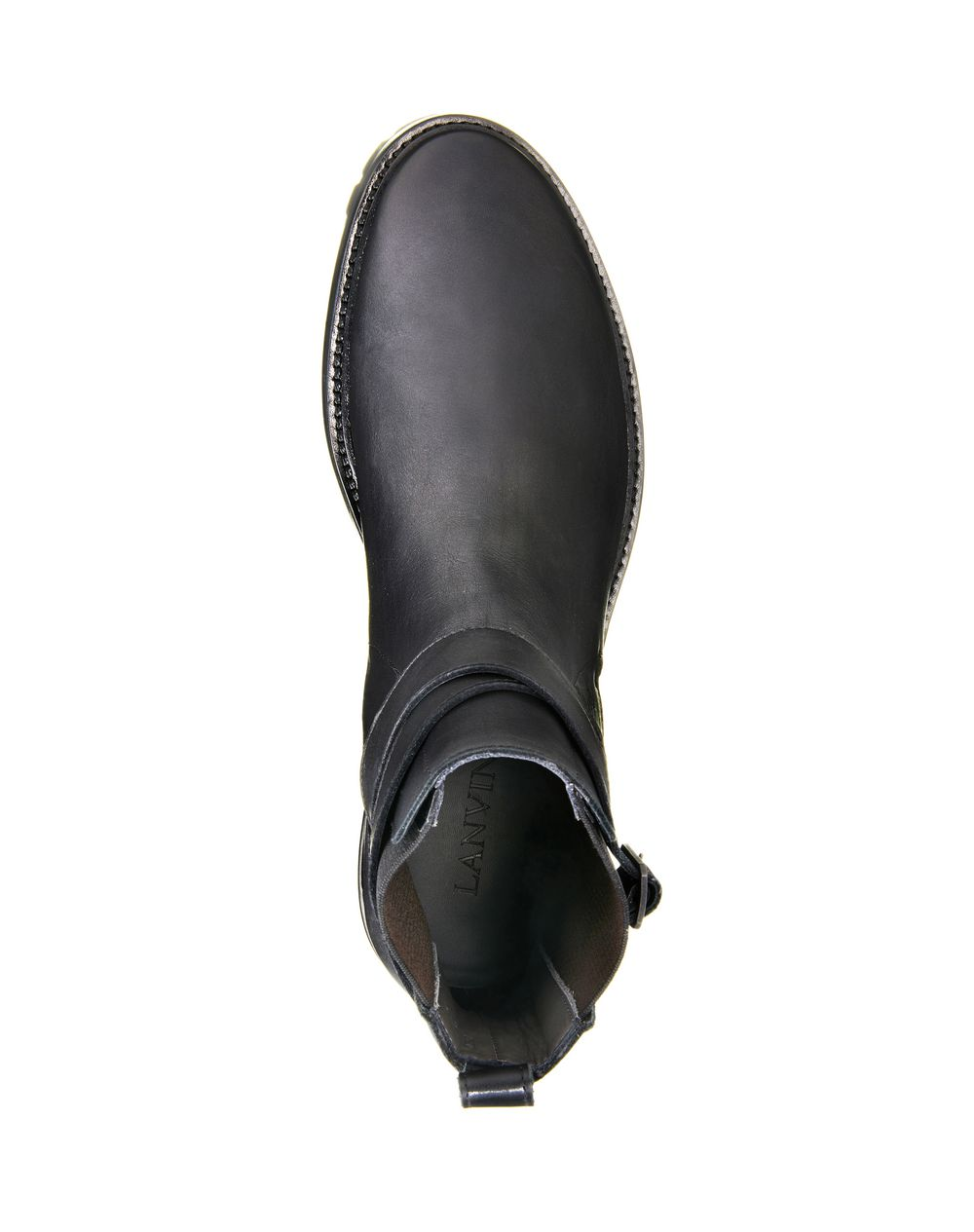 SMOOTH CALFSKIN CHELSEA BOOT - Lanvin