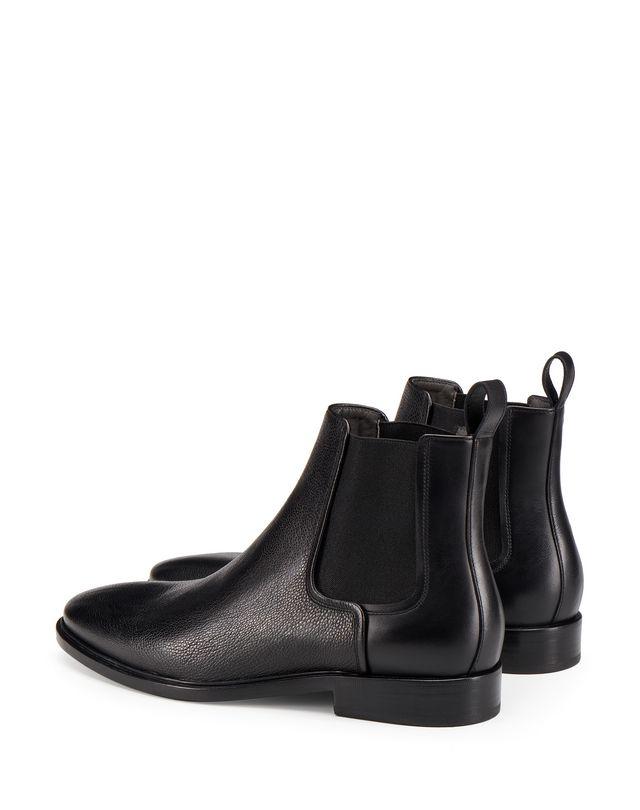 LANVIN DUAL MATERIAL CHELSEA BOOT Boots U d