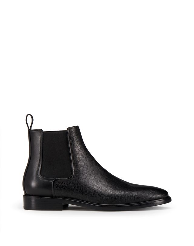 LANVIN DUAL MATERIAL CHELSEA BOOT Boots U f