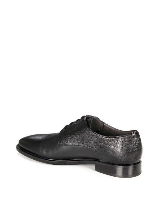 lanvin dual material derby men