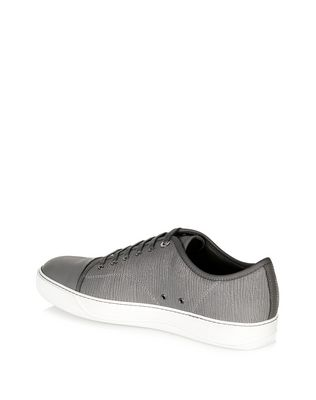 LANVIN TEXTURED CALFSKIN SNEAKER Sneakers U d