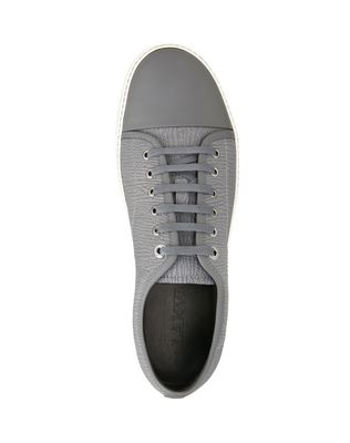 LANVIN TEXTURED CALFSKIN SNEAKER Sneakers U r