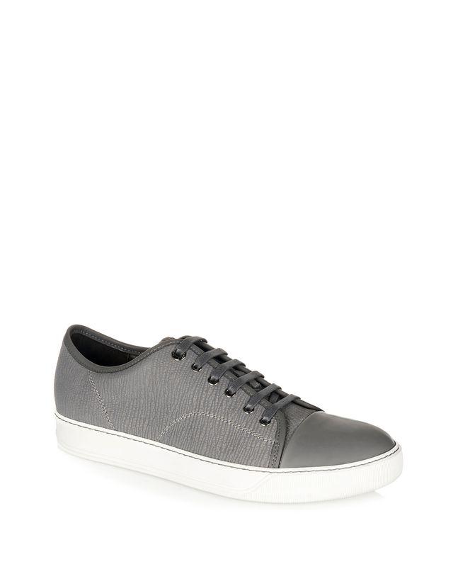 LANVIN TEXTURED CALFSKIN SNEAKER Sneakers U f