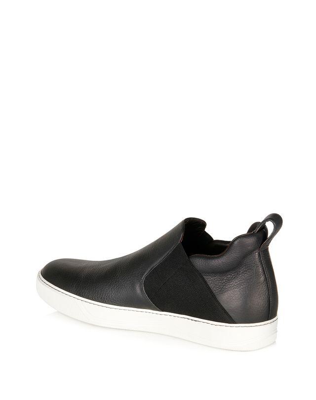 LANVIN GRAINED CALFSKIN CHELSEA SLIP-ON Sneakers U d