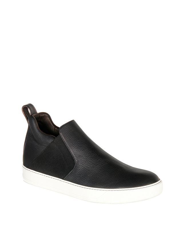 LANVIN GRAINED CALFSKIN CHELSEA SLIP-ON Sneakers U f