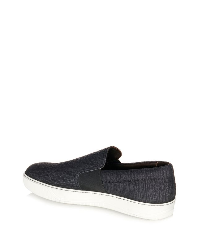 LANVIN TEXTURED SLIP-ON SNEAKER Sneakers U d