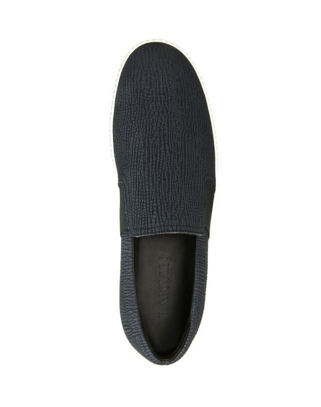 LANVIN TEXTURED SLIP-ON SNEAKER Sneakers U r