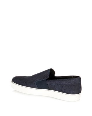 LANVIN TEXTURED SLIP-ON SNEAKER Sneakers U d