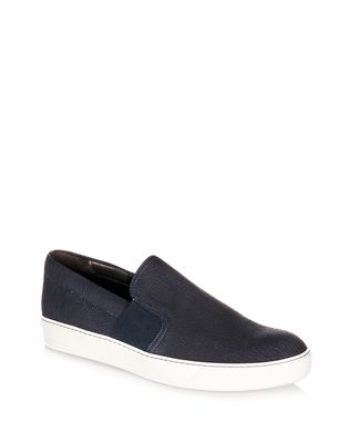 LANVIN TEXTURED SLIP-ON SNEAKER Sneakers U f