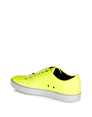 LANVIN SOFT CALFSKIN SNEAKER Sneakers U d