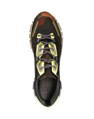 LANVIN NYLON CROSS-TRAINER Sneakers U d