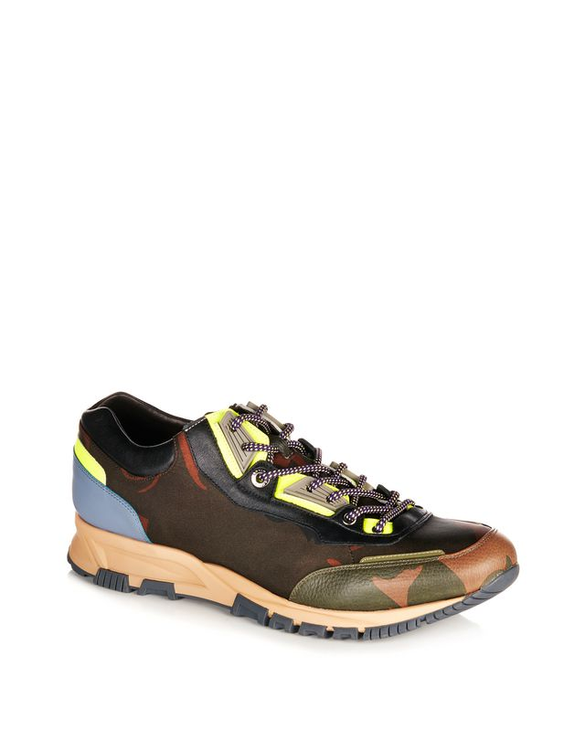 LANVIN NYLON CROSS-TRAINER Sneakers U f