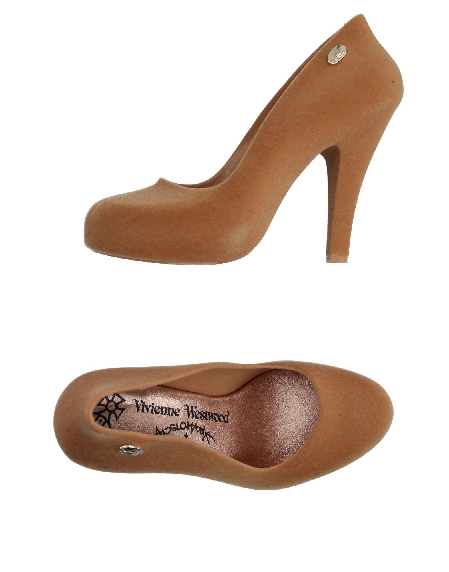 VIVIENNE WESTWOOD ANGLOMANIA + MELISSA Туфли