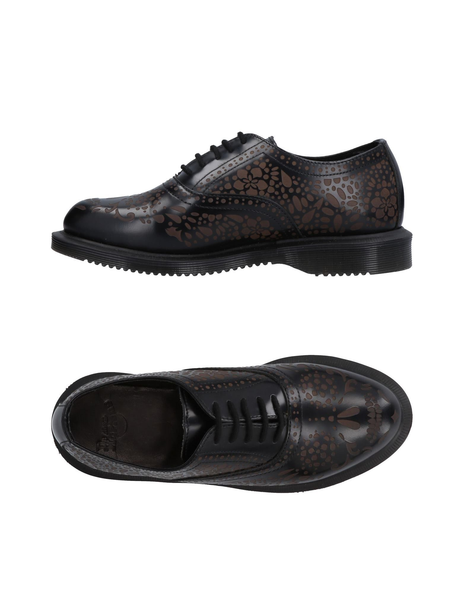 DR. MARTENS Обувь на шнурках drawstring spliced camo jogger pants
