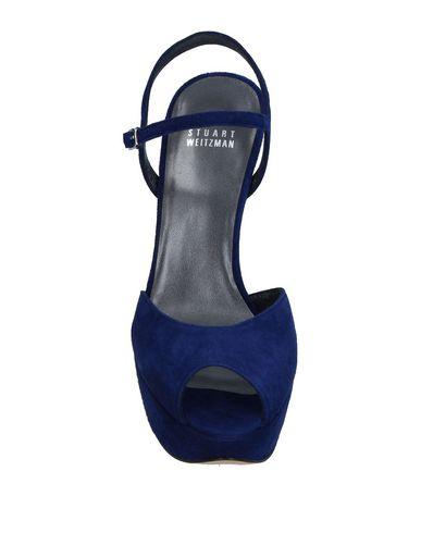 Фото 2 - Женские сандали  темно-синего цвета