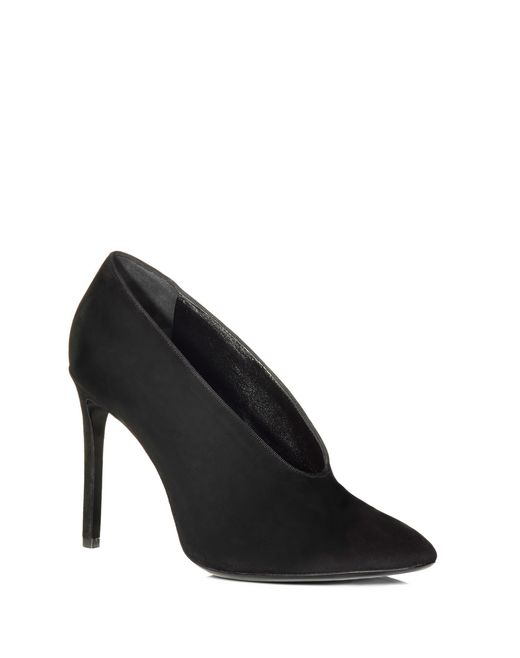 lanvin high heel in suede women
