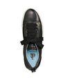 LANVIN Sneakers Woman LOW BLACK EMBOSSED SNEAKER IN LAMBSKIN f