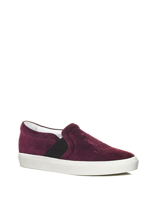 LANVIN SLIP-ON SNEAKER WITH EMBOSSED LOGO Sneakers D f