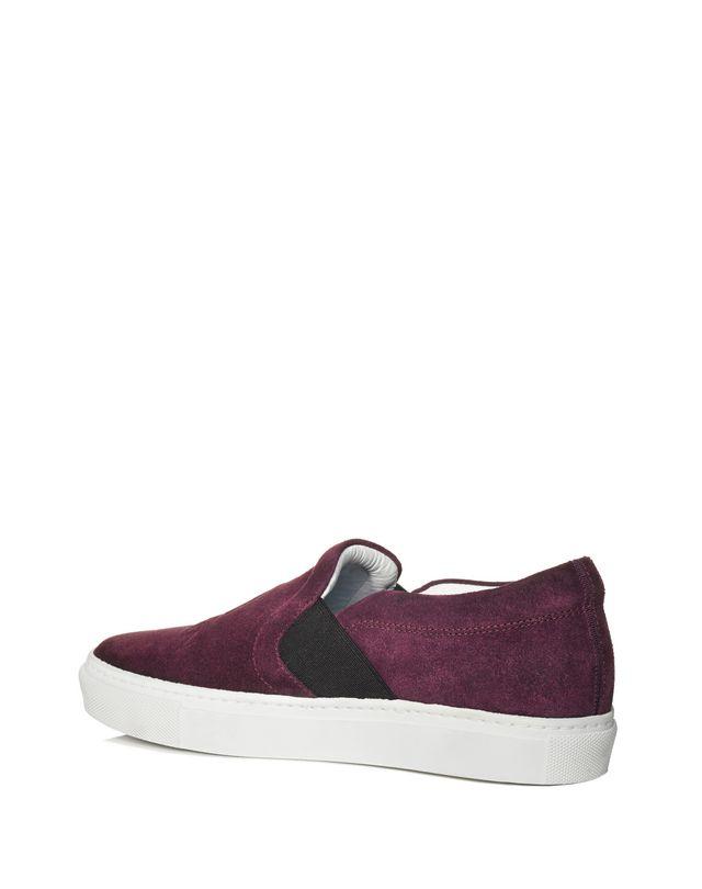 LANVIN SLIP-ON SNEAKER WITH EMBOSSED LOGO Sneakers D r
