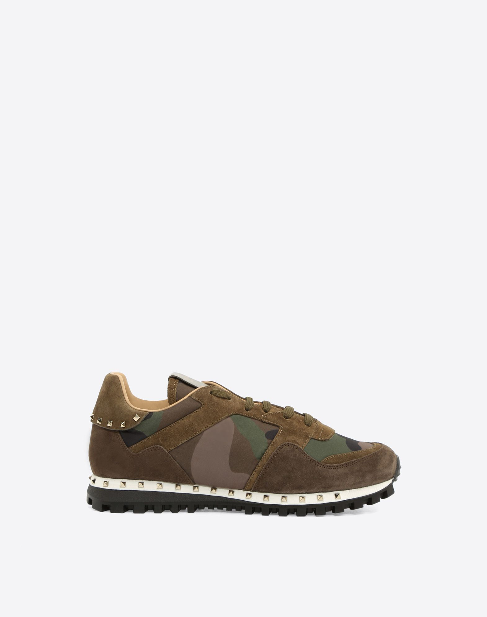 STUDDED SNEAKER CAMOUFLAGE