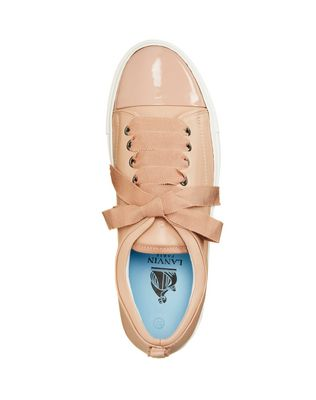 LANVIN LOW POWDER TWO LEATHER SNEAKER Sneakers D r