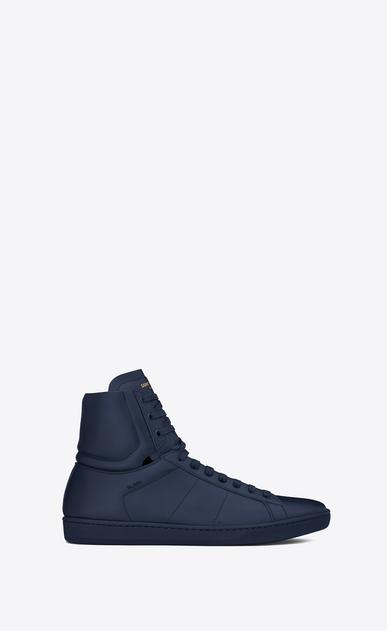 SAINT LAURENT High top sneakers U Signature COURT CLASSIC SL/01H High Top Sneaker in Indigo Blue Leather v4