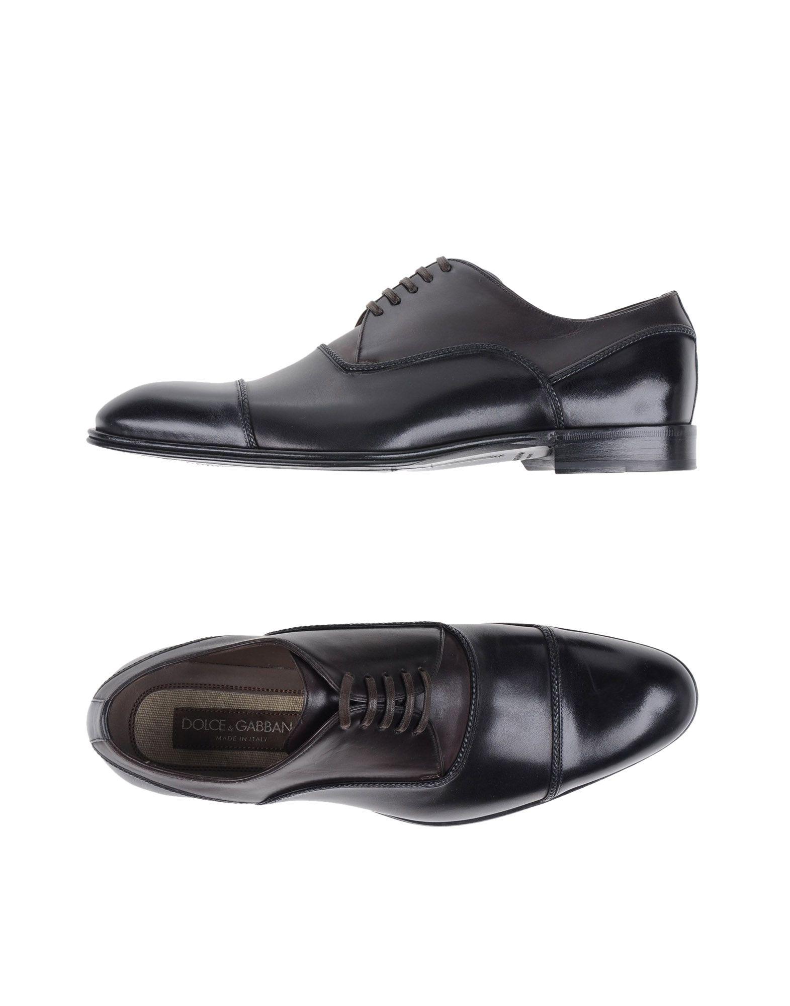 DOLCE & GABBANA Обувь на шнурках обувь shoiberg