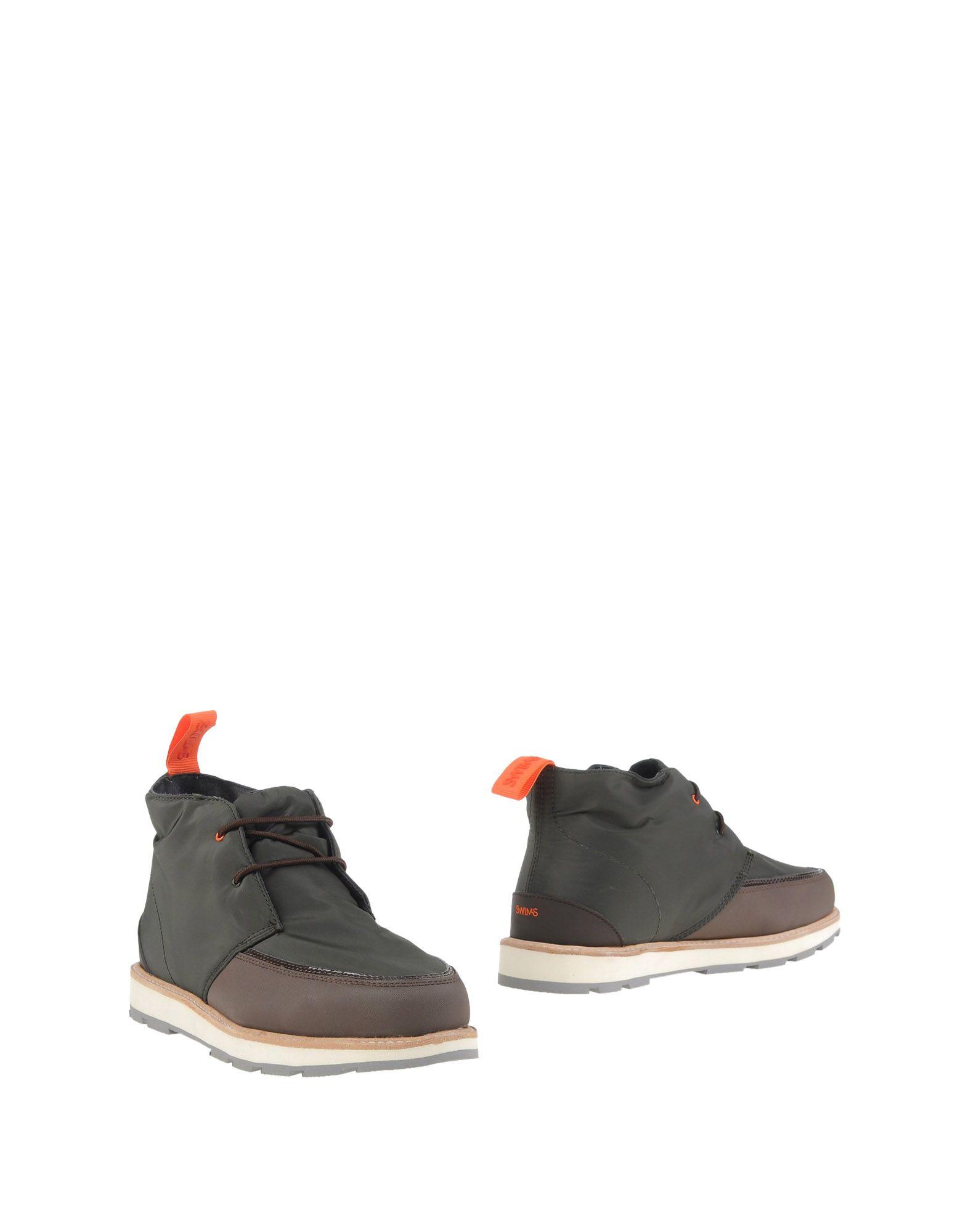 SWIMS Полусапоги и высокие ботинки цены онлайн