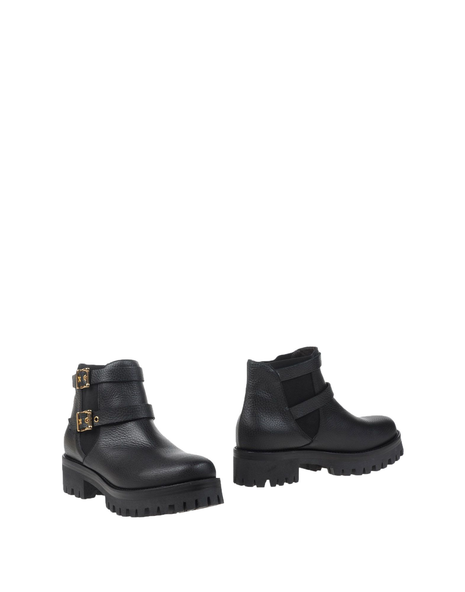 PETER FLOWERS Ankle Boot in Black