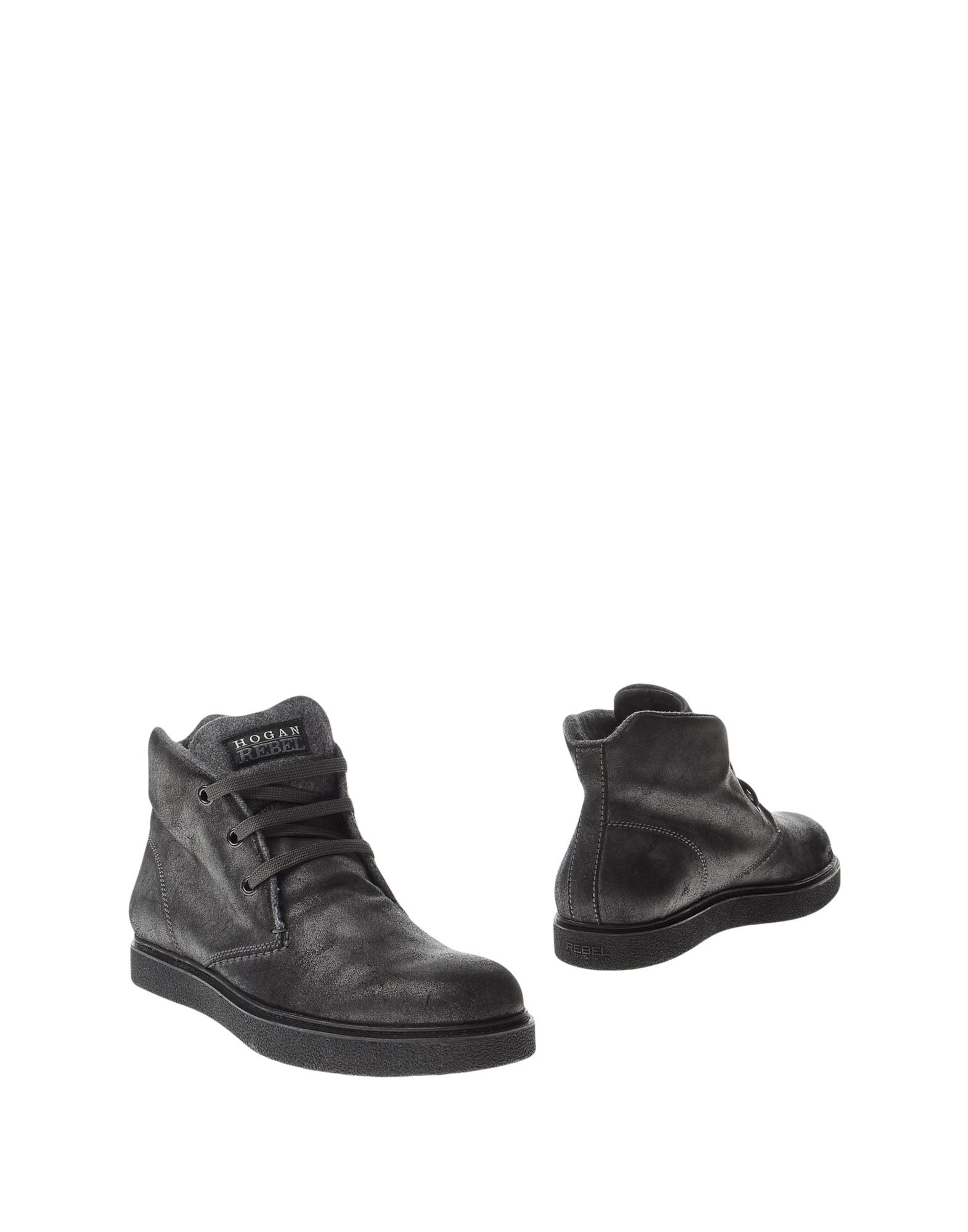 HOGAN REBEL Boots in Lead
