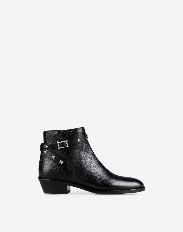 Rockstud 踝靴