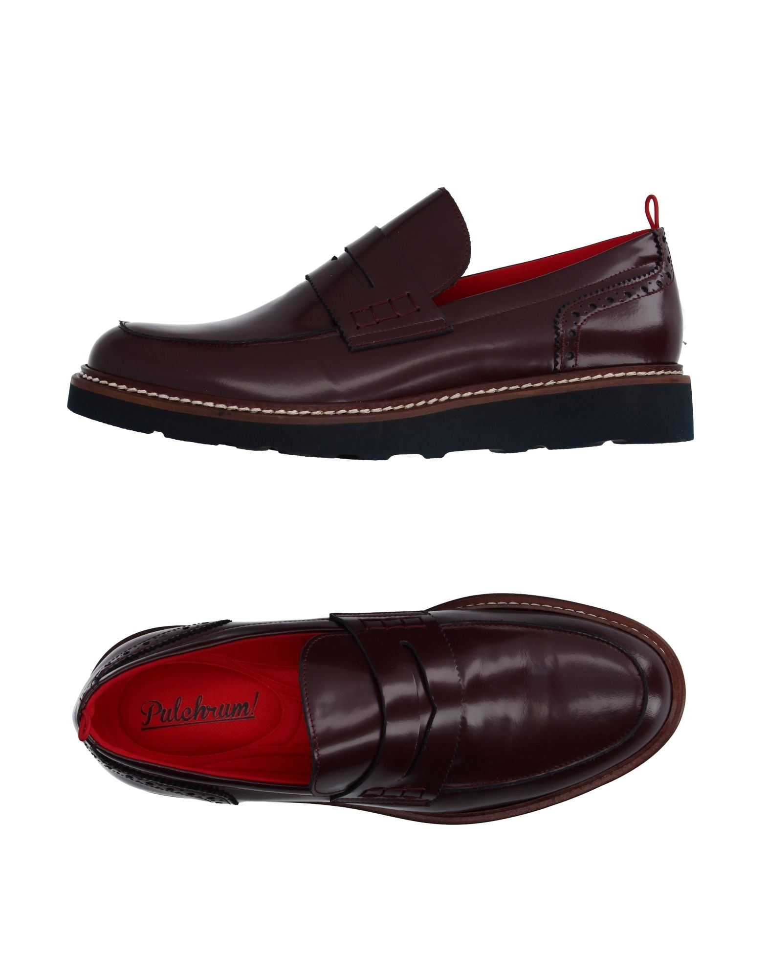 PULCHRUM ! Loafers in Maroon