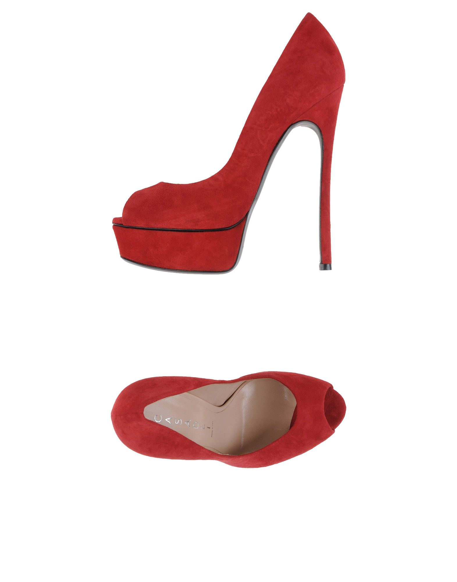 e9b6da0925b Casadei Pump In Red