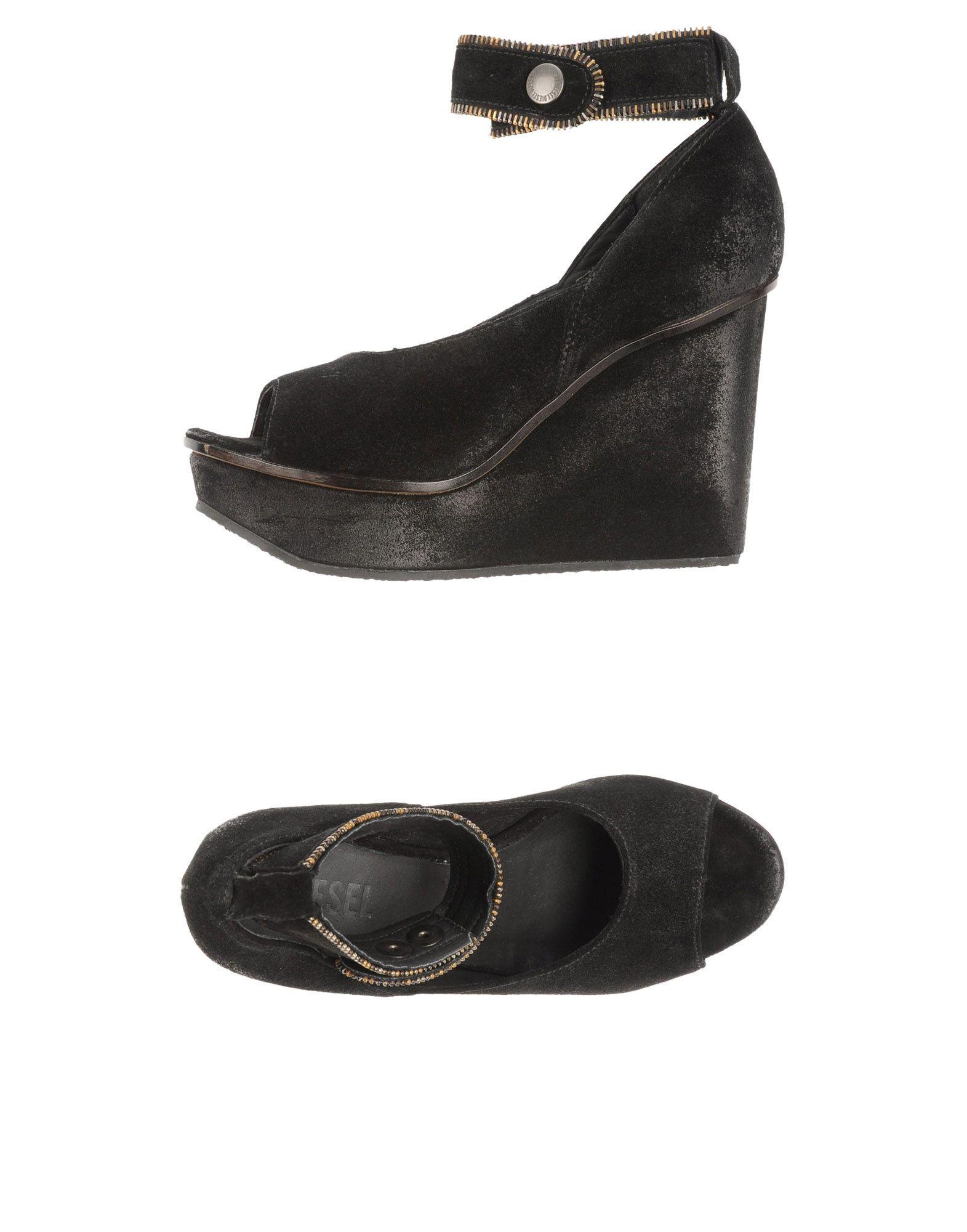 DIESEL Туфли цены онлайн
