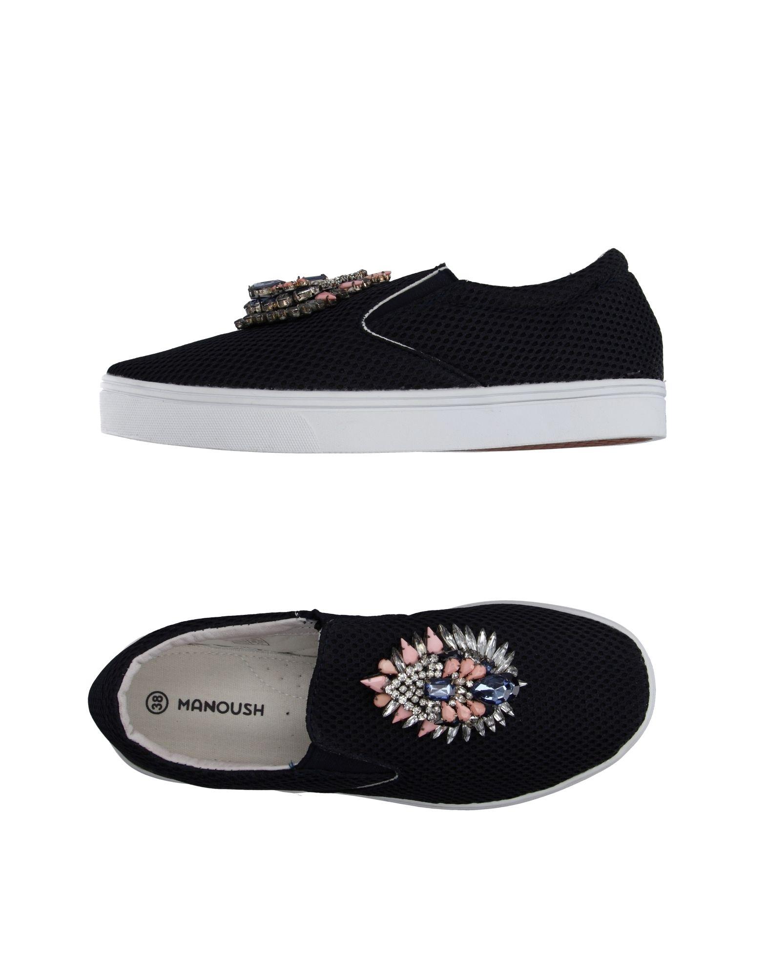 Фото MANOUSH Низкие кеды и кроссовки. Купить с доставкой