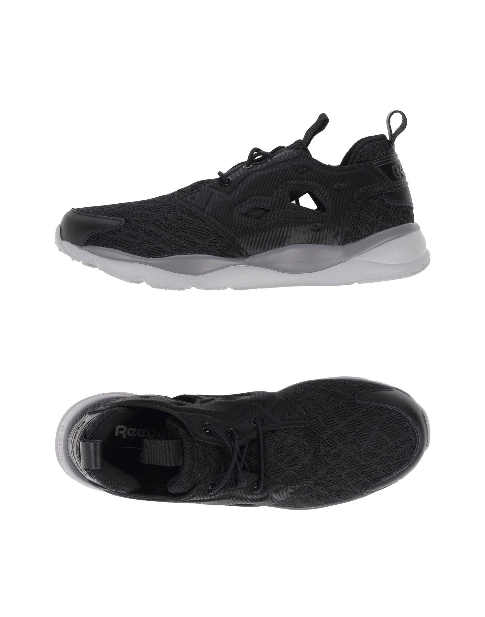《送料無料》REEBOK メンズ スニーカー&テニスシューズ(ローカット) ブラック 5 紡績繊維 / ゴム
