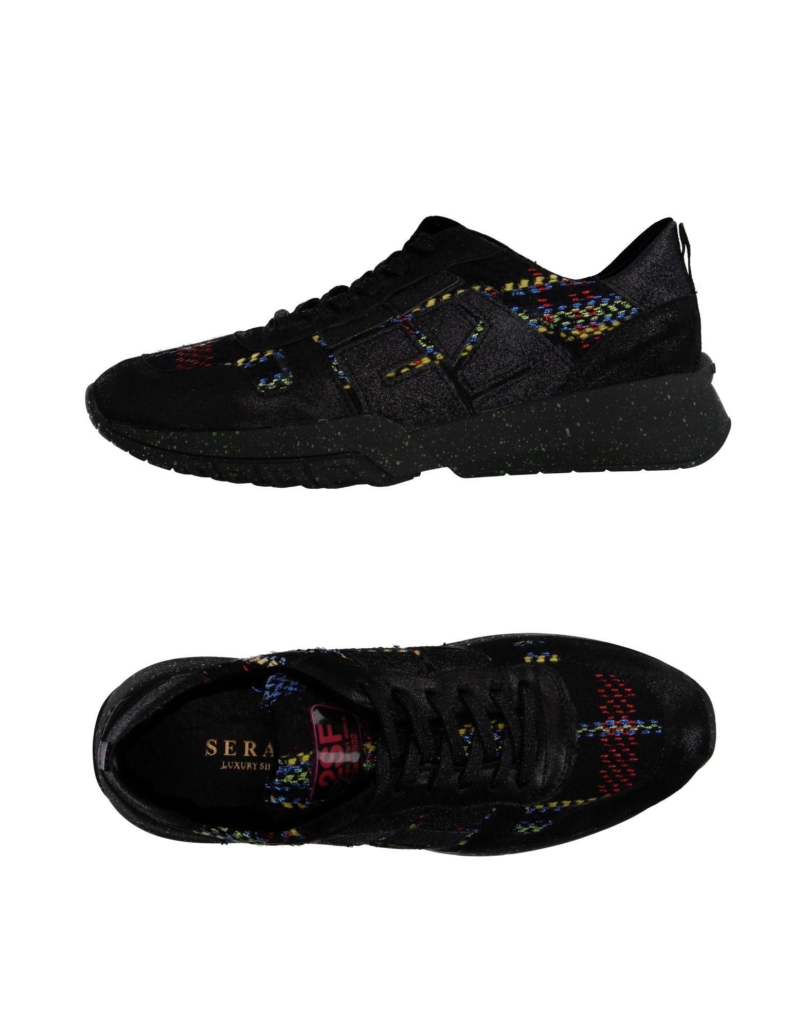 SERAFINI Sneakers in Black