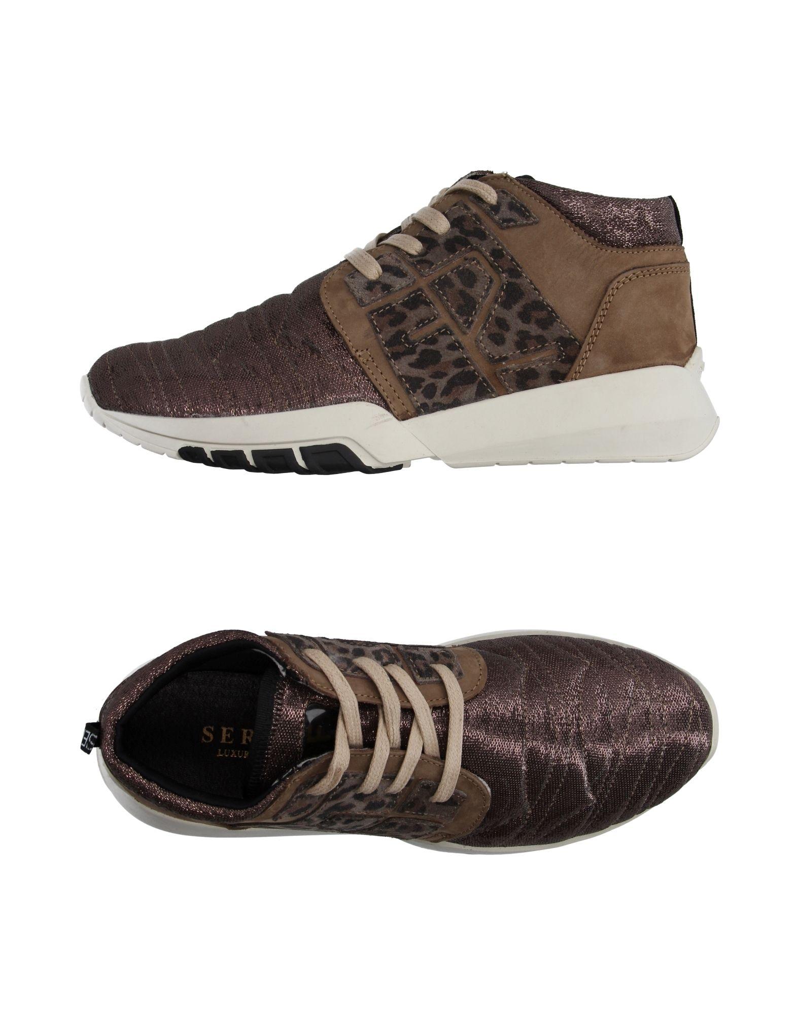 SERAFINI Sneakers in Bronze