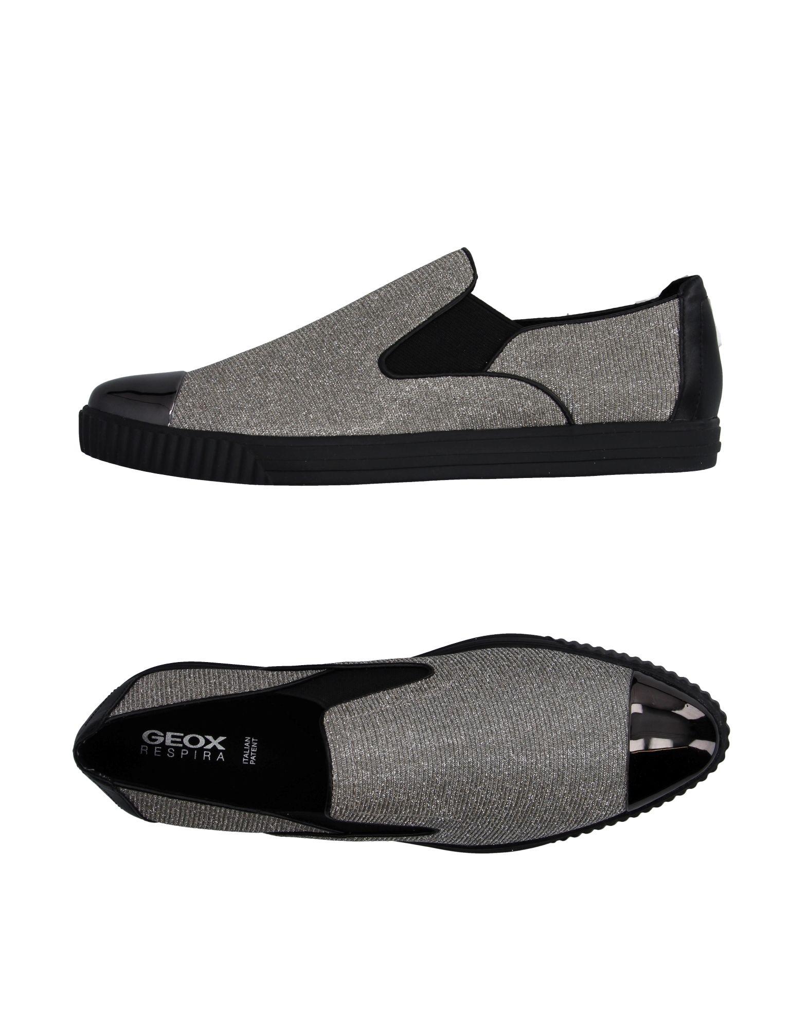 ФОТО geox Низкие кеды и кроссовки
