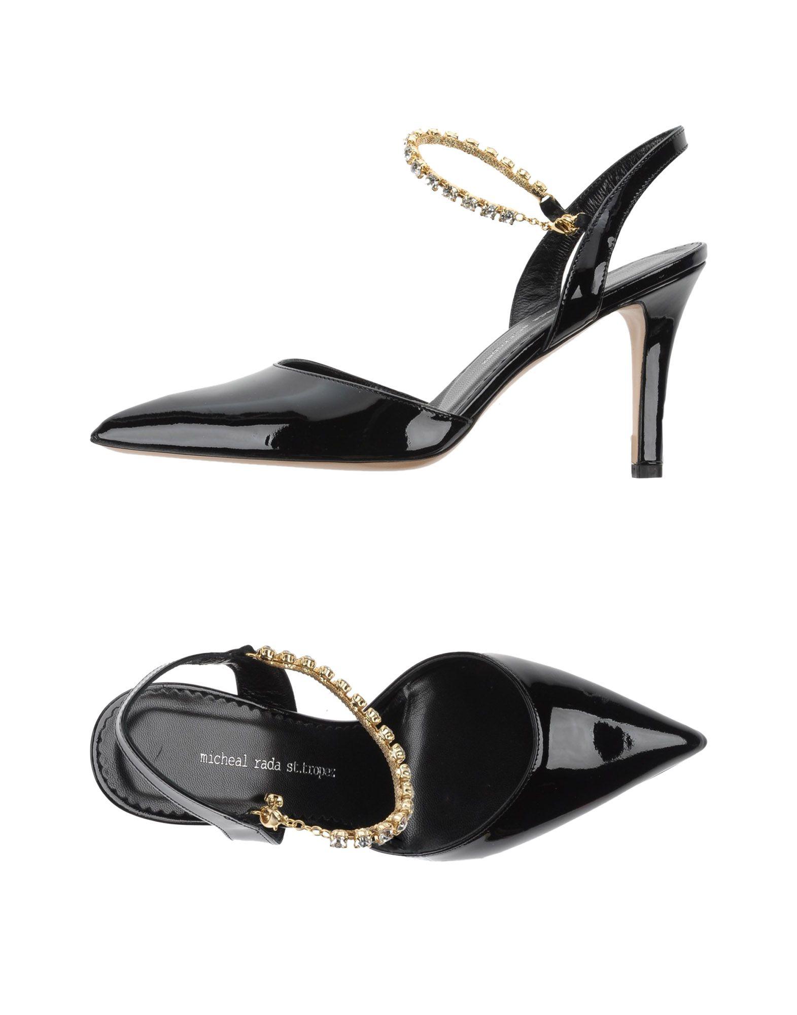 MICHEAL RADA ST.TROPEZ Туфли цены онлайн