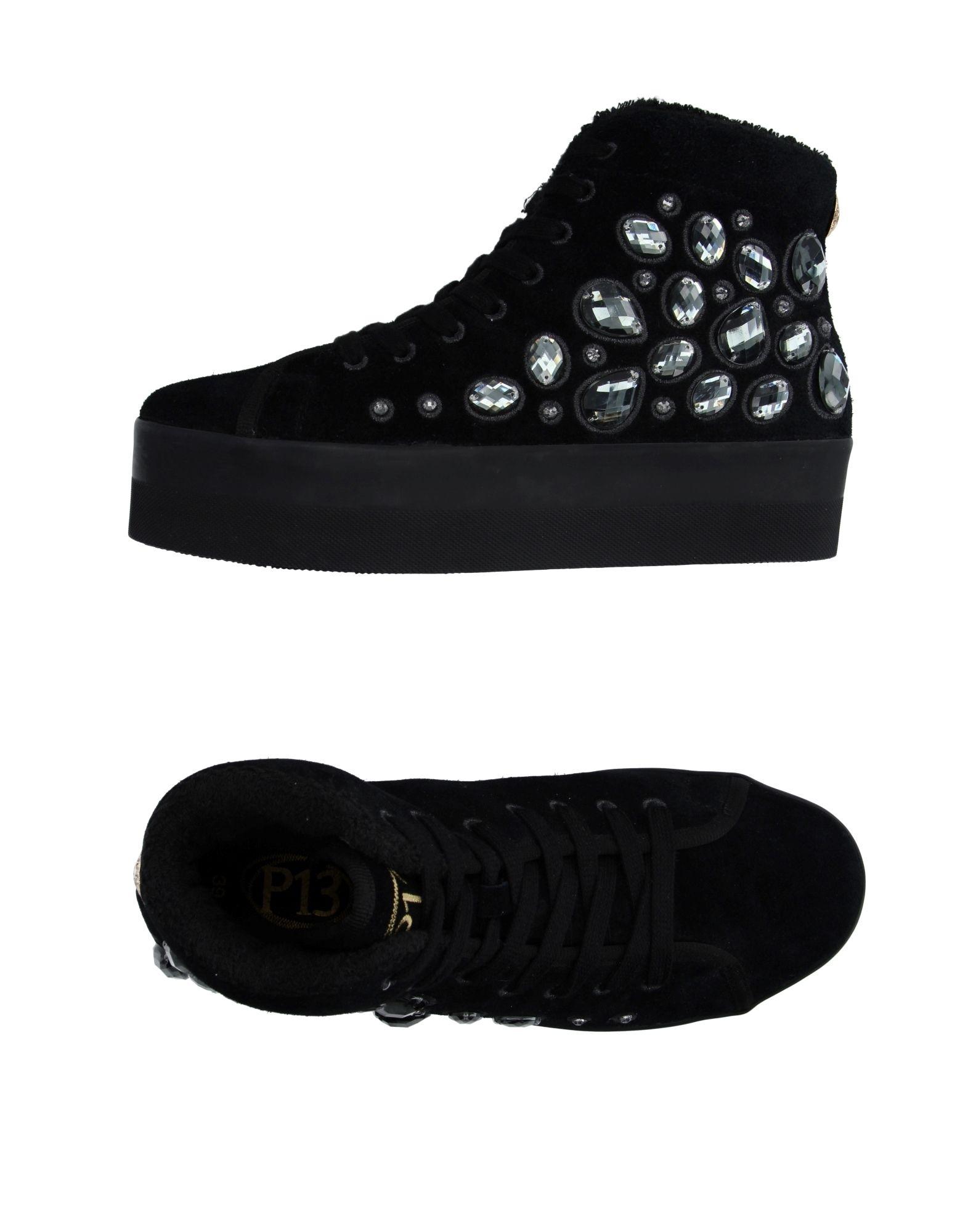 P13 Sneakers in Black