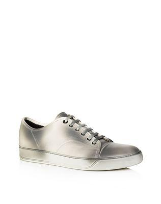 LANVIN DBB1 SOFT CALFSKIN SNEAKER Sneakers U f
