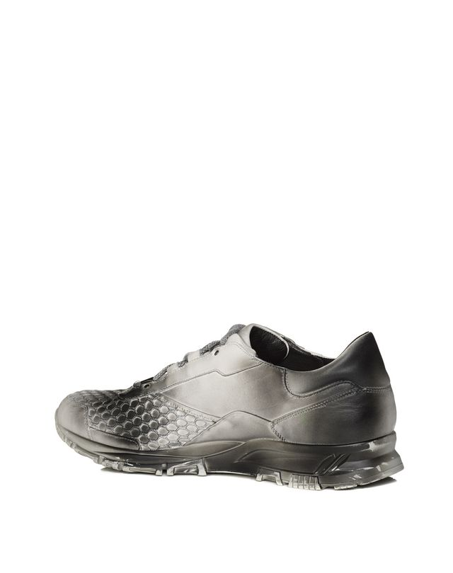LANVIN SOFT CALFSKIN CROSS-TRAINER Sneakers U r